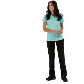 Regatta Virda II t-shirt Dames turquoise